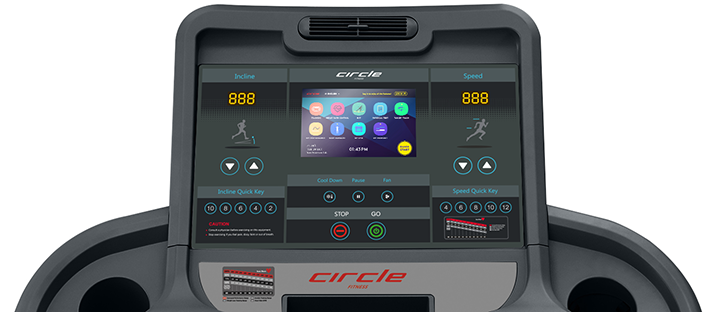 Circle Fitness Sport Console