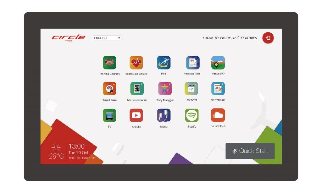 Entertainment Plus Console 18.1/15.6 Inch Touchscreen