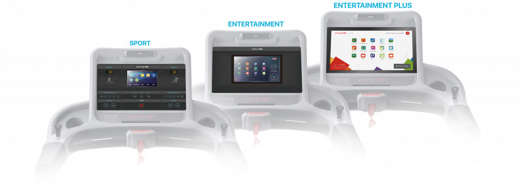 Circle Fitness Console Options