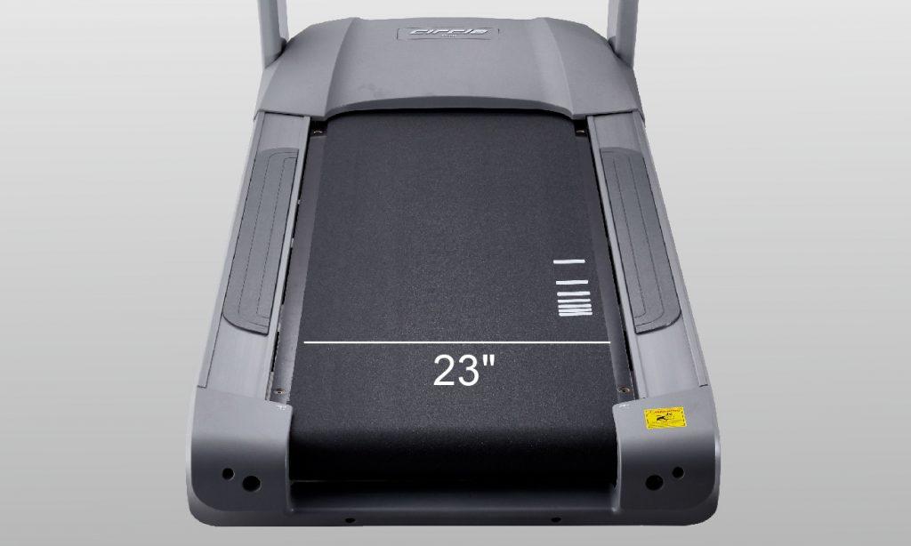 M8 Treadmill Extra Large Running Surface