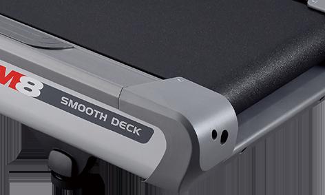 M8 Treadmill Smooth Deck