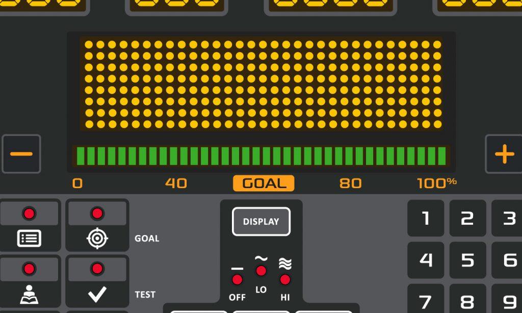 Standard Console Goal Bar