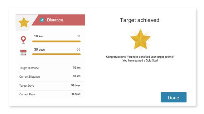 Target Train Achievements